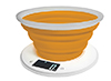 Scale kitchen with a silicone bowl Adler AD 3153o