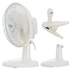 Fan 15 cm with clip and base Adler AD 7317 style=