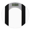 Electronical bathroom scale Adler AD 8122