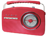 Radio retro Camry CR 1130 red