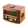 Radio retro with bluetooth, USB/CD/MP3/recording