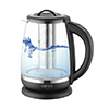 Kettle glass 2,0 l - with temp. control  and  tea infuser