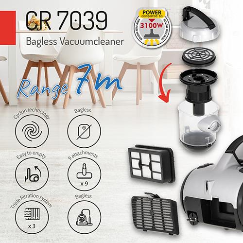 Безмішковий пилосос Camry CR 7039
