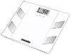 BATHROOM SCALE MESKO MS 8148 white Mesko MS 8148 W